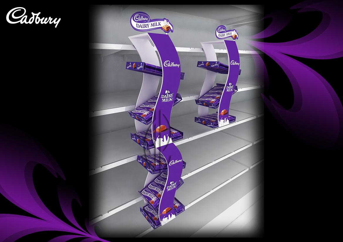 Mesh In Store Inspiration Cadbury Display Units