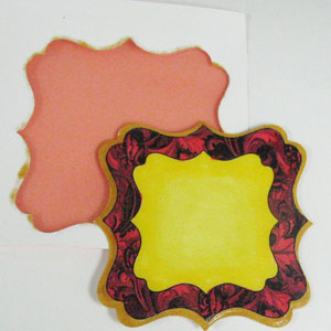 Blockheads Paper Arts 4 Sided Spellbinders Ornaments