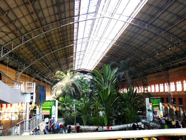 Madrid métro marché jardin
