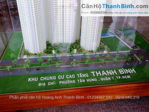 Phối cảnh dự án hoàng Anh Thanh Bình