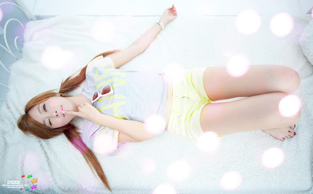 Choi-Byul-I-Yellow-and-Grey-02-very cute asian girl-girlcute4u.blogspot.com