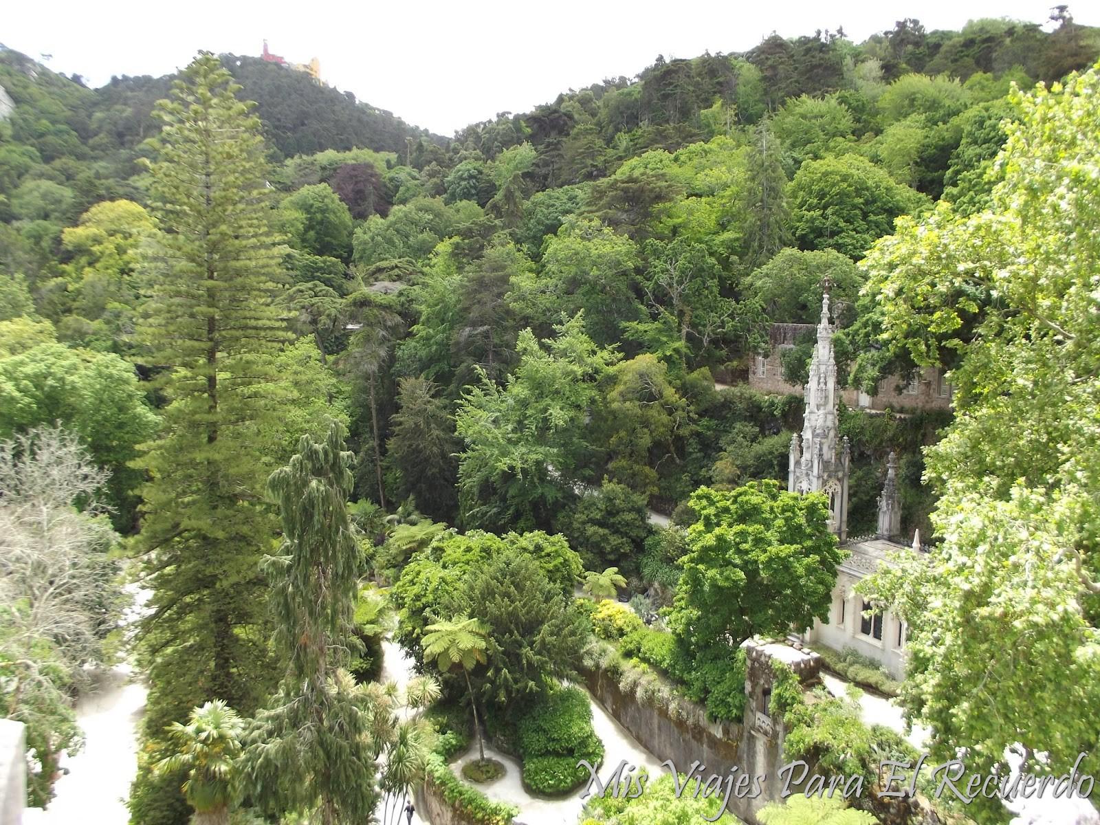 Mis viajes para el recuerdo sintra for Jardines quinta da regaleira