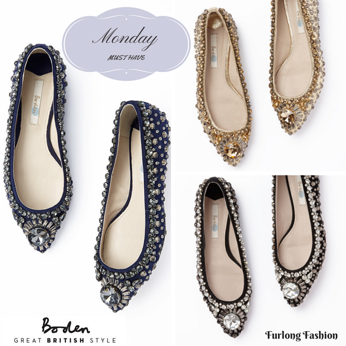 Boden encrusted pumps