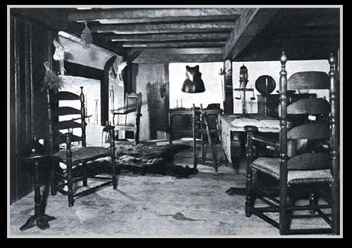 Restored Pre Revolutionary War Rhode Island Interior