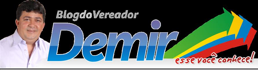 Blog do Vereador Demir