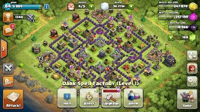 1 gems untuk boost spell factory
