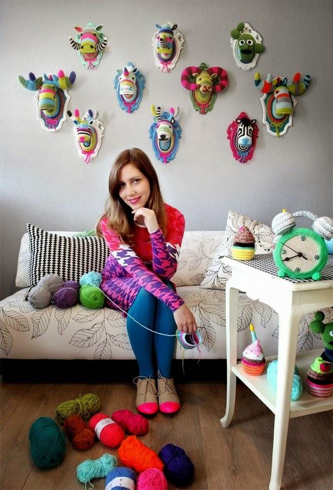 Ideas para el hogar a ganchillo patrones crochet for Cosas decorativas para el hogar