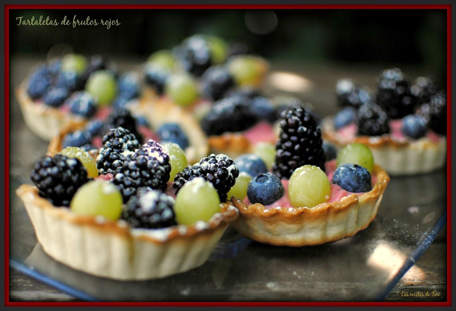 Tartaletas de frutos rojos las recetas de tere 06