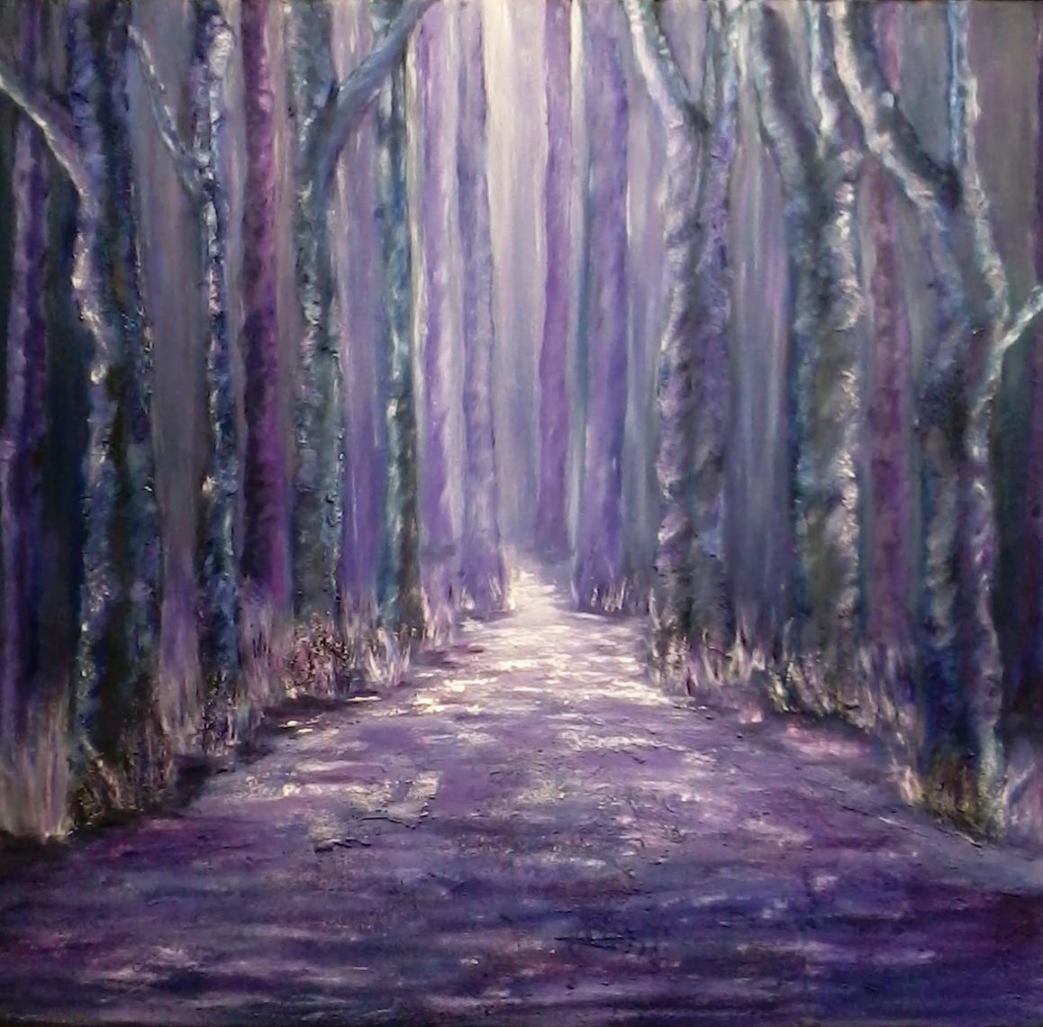 curso de dibujo y pintura Aula creativa docente mjbarrera Bosque