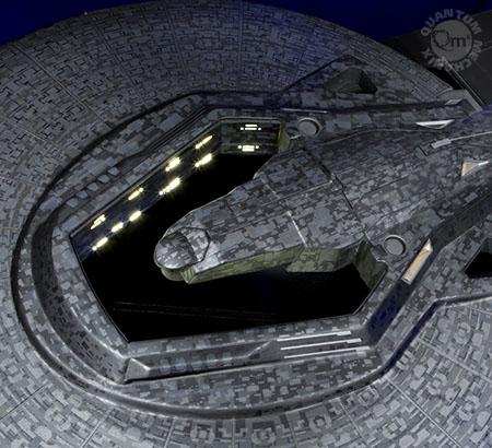 Uss Vengeance Hot Wheels The Trek Collective: Q...
