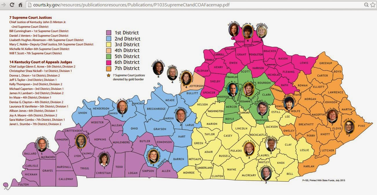 the 7th supreme court district in eastern kentucky will t scott s old seat a current candidate on the scott coffey republican ticket for governor