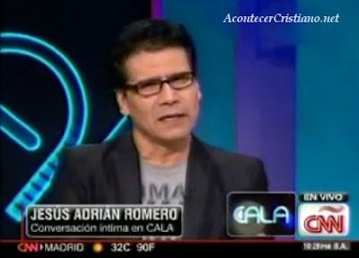 Jesús Adrián Romero entrevistado en CNN en español