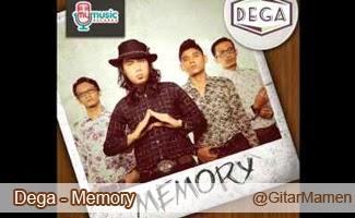 kunci gitar dega memory