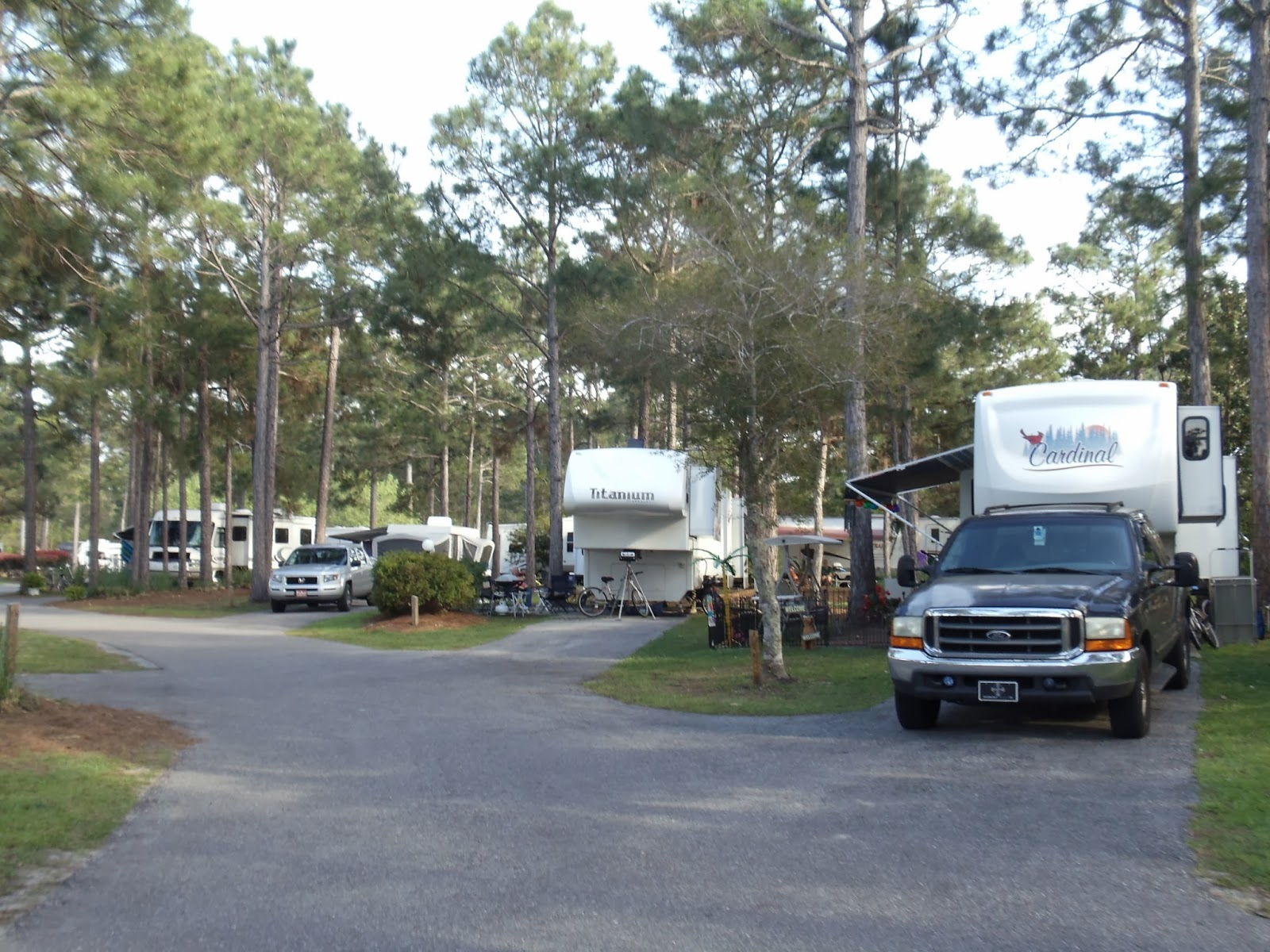 Florida state parks with rv hookups