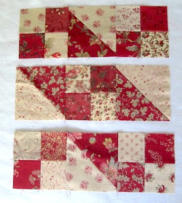 Jacob's ladder quilt block