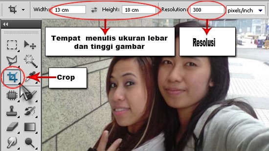 Croping Image Dengan Photoshop