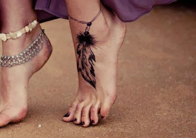 Fotos de Tatuagens Femininas no Pé