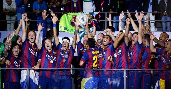 BARCELONA É CAMPEÃO DA UEFA CHAMPIONS LEAGUE 2014-2015