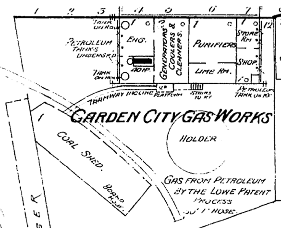 stockton and copperopolis railroad  oakdale gas works
