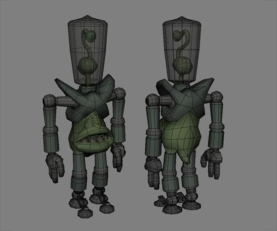 B-Movie Alien model