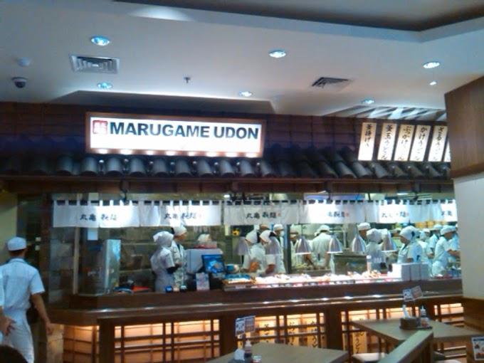 Makan Besar Nan Cantik di MARUGAME UDON & TEMPURA
