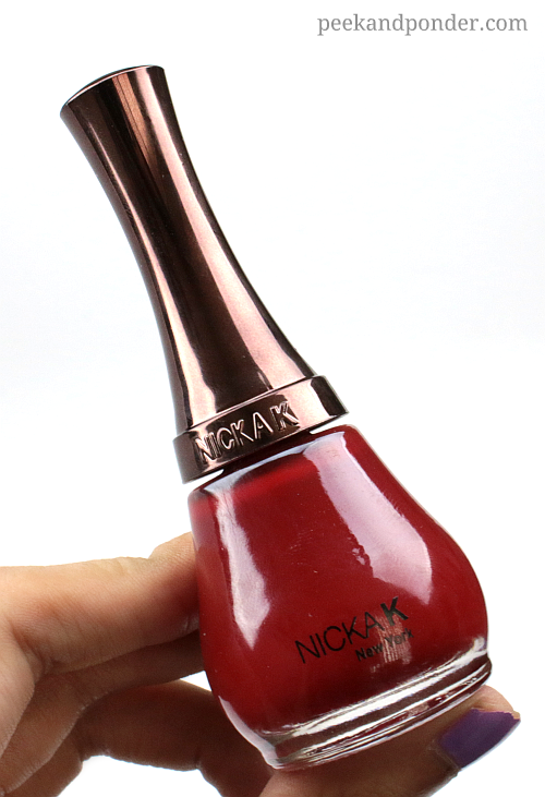 Nicka K nail polish in Ripe Apple
