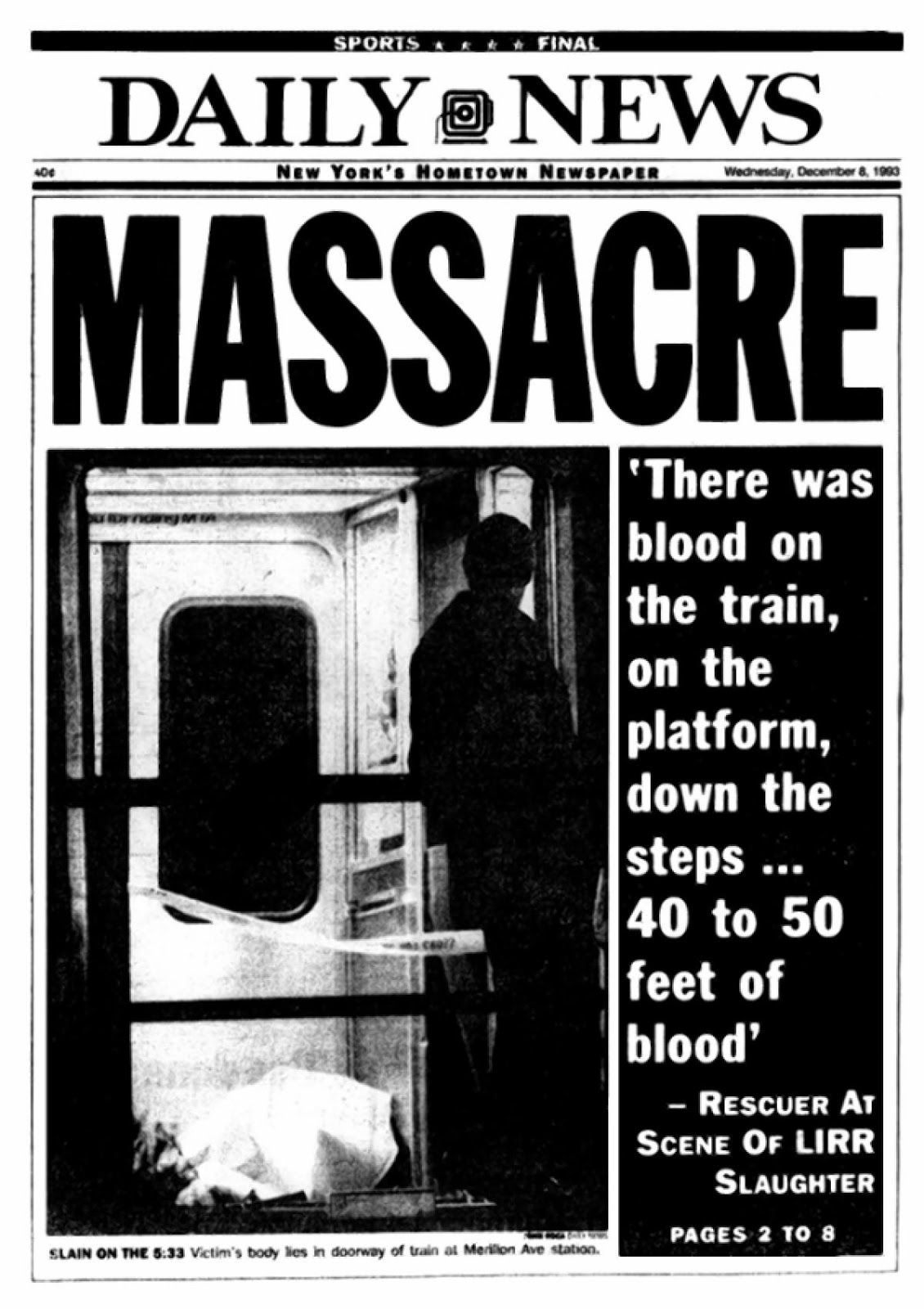 Long Island Railroad Shooting Victims