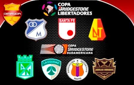 Equipos que representarán a Colombia en el 2013