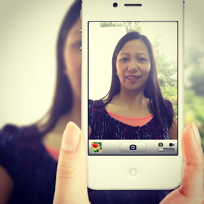 instagram selfie edited with PIP camera