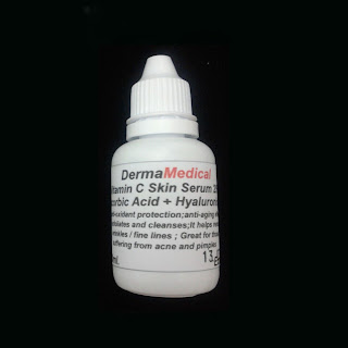 Pure Vitamin C Skin Serum 15% High Potency-L Ascorbic Acid and Hyaluronic Acid