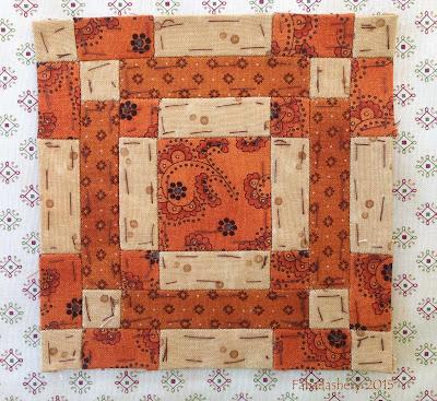 Dear Jane Quilt - Block E-8 Mama's Maze