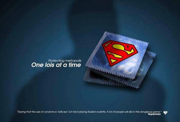Galleries Today Creative Condoms Ads Poster