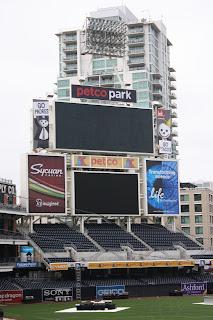 Petco Park Scoreboard