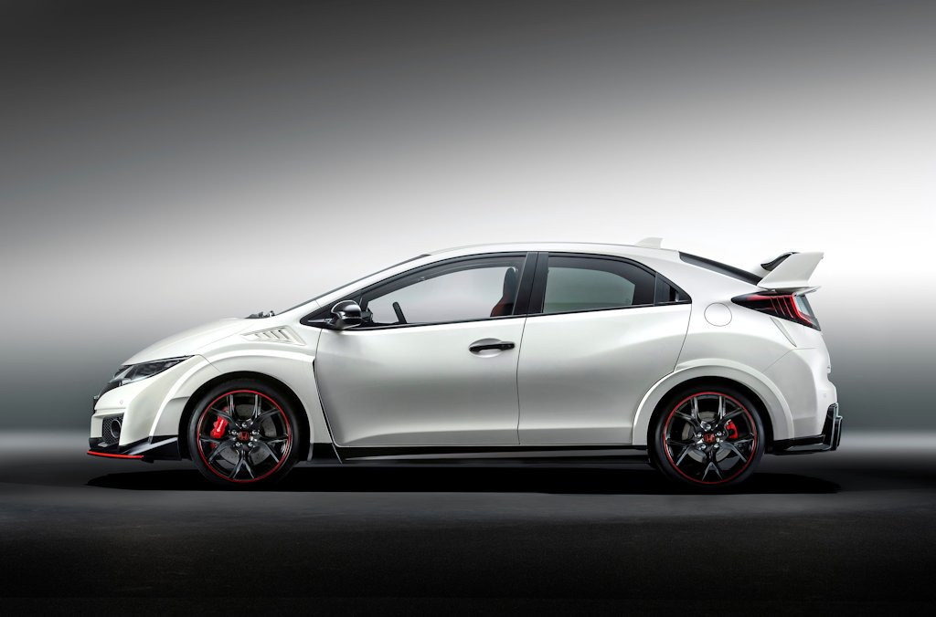welcome crazy 2015 honda civic type r bows in at geneva. Black Bedroom Furniture Sets. Home Design Ideas