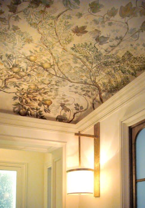 papier peint pour plafond. Black Bedroom Furniture Sets. Home Design Ideas