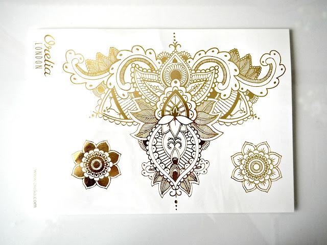 Goldenen Tattoos