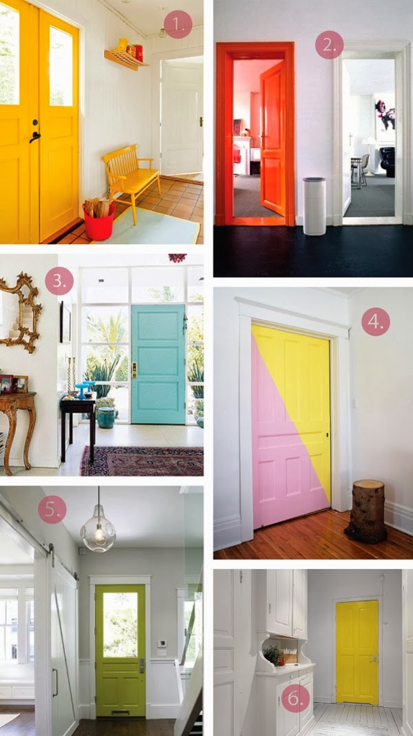 Interior with bright colors