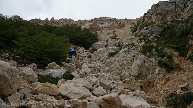 acarreo, senda frey laguna jackob, trekking