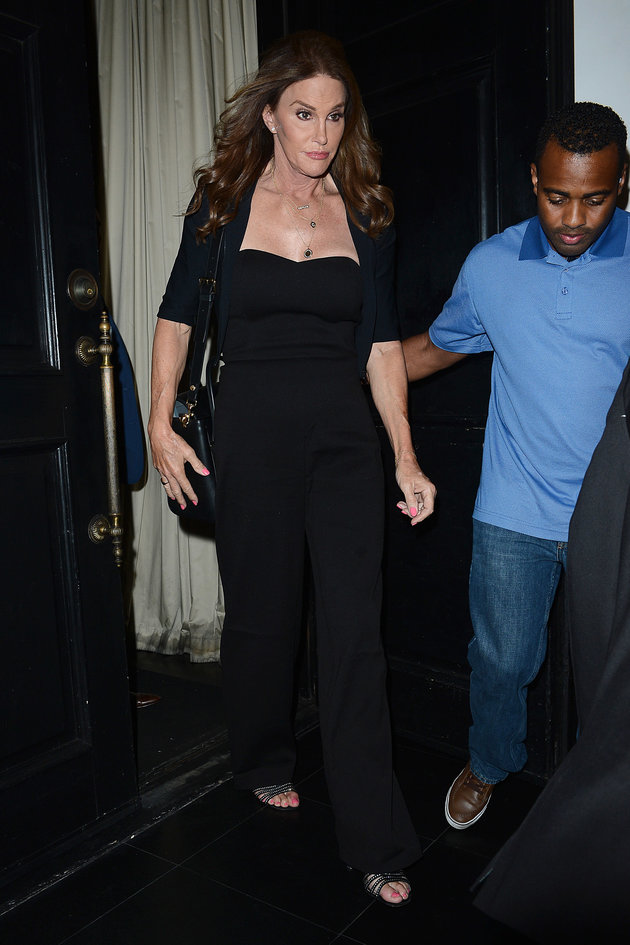 Caitlyn Jenner in a chic jumpsuit out and about in Hollywood