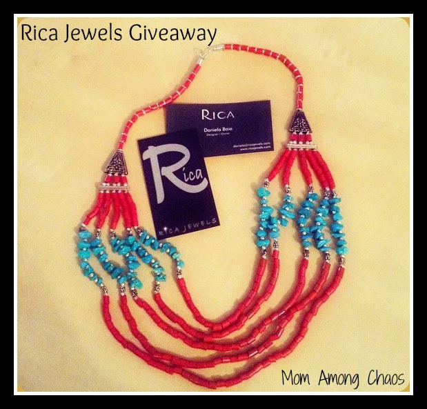 jewelry, Rica Jewels, discount, coupon, necklace, gift certificate, giveaway, ChildFund, review,