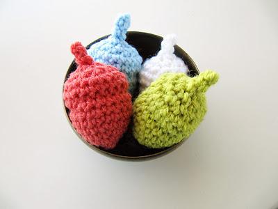 free crochet amigurumi acorn pattern