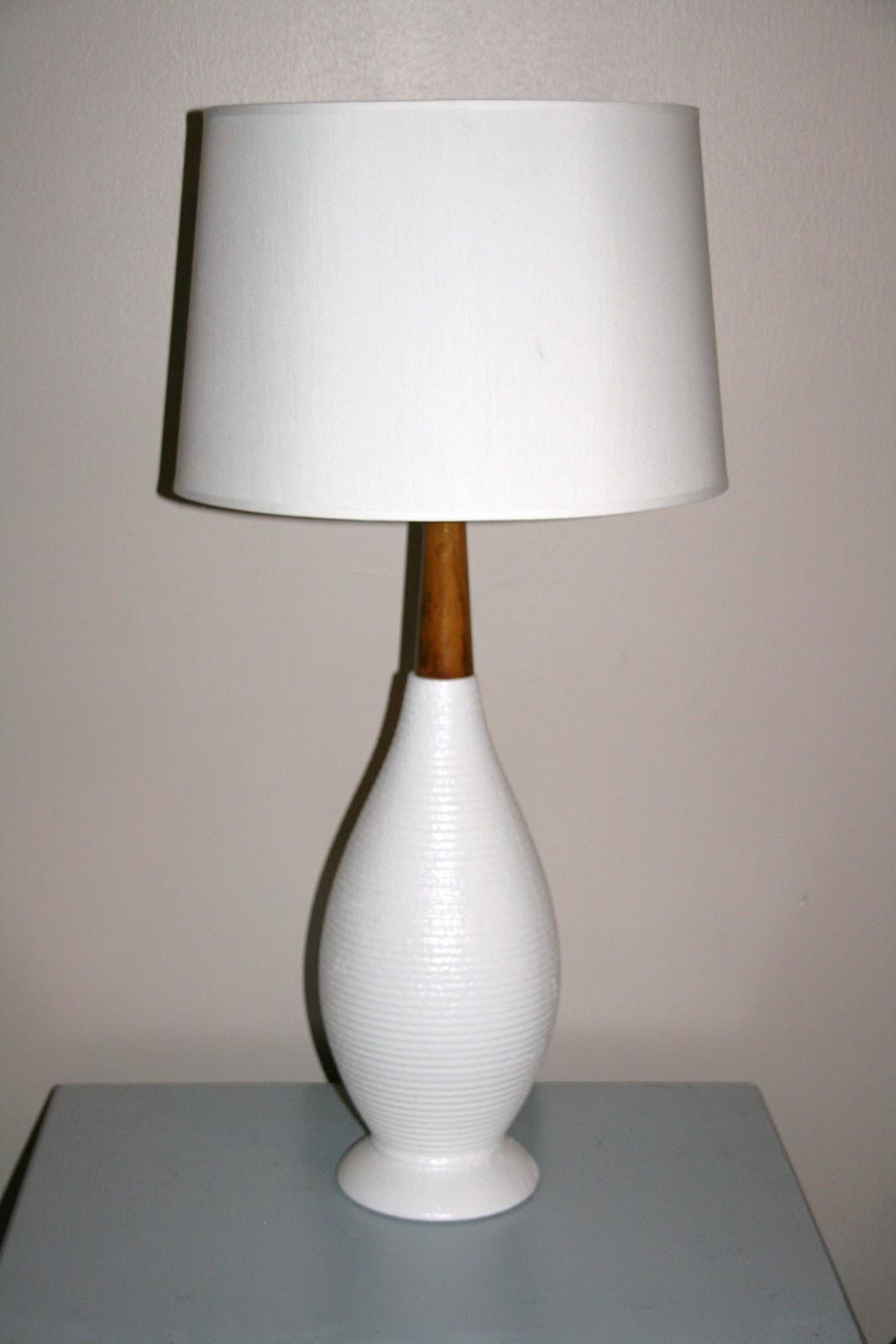 retropolitan hand painted anthro inspired lamp shade. Black Bedroom Furniture Sets. Home Design Ideas