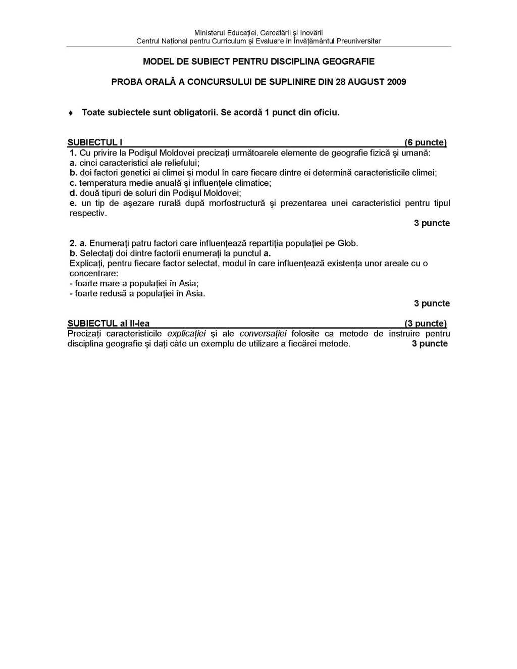 rezolvari variante bac 2008 romana download