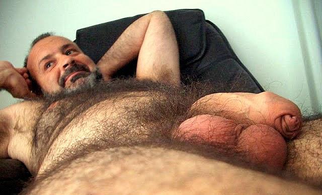 Homme au poil