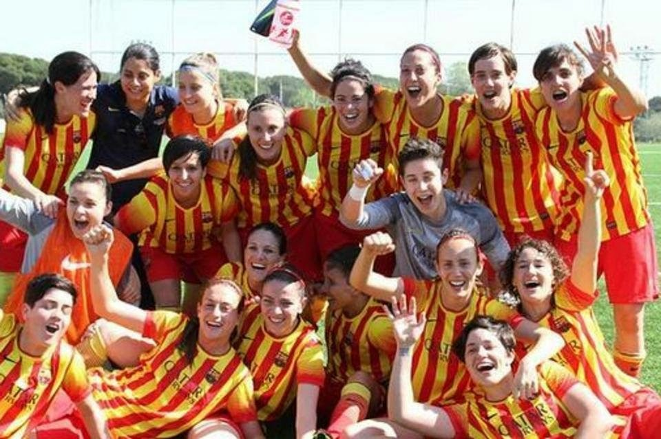 El Barça femenino campeón de liga