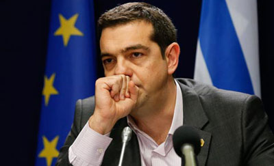 GREECE PM TSIPRAS LICKS HIS WOUND??