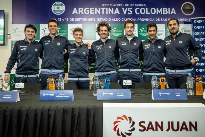 DAVIS CUP - ARGENTINA 4-0 SOBRE COLOMBIA