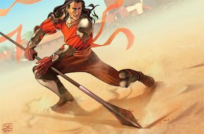 ilustración 2 oberyn martell la víbora roja - Juego de Tronos en los siete reinos