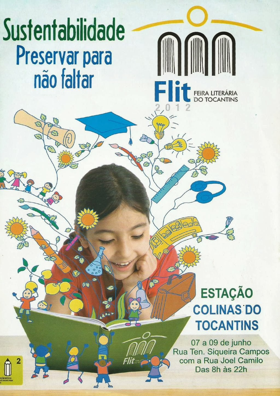 PALESTRA PROFERIDA POR MIM NA FEIRA FEIRA LITERÁRIA INTERNACIONAL DO TOCANTINS/ 2012