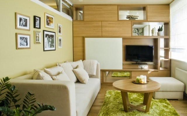 15 functional suggestions for living room designs with an open kitchen. Interior Design Ideas. Home Design Ideas